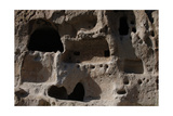 United States, Bandelier National Monument, Anasazi Culture, Cliff Dwellings Giclee Print