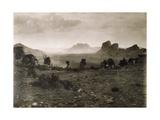 Senafe Valley Where Captain Ciccodicola Attacked Ras Mangasha in 1887 Giclee Print