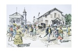 Scenes of Everyday Life, Georgetown, Guyana Giclee Print