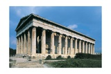 Low Angle View of a Temple, Temple of Hephaestus, Ancient Agora, Athens, Greece Giclee Print