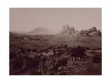 Senafe Basin Viewed from Summit of Amba Algi Giclee Print