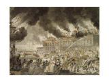 Copenhagen Fire, June 5, 1795 by Stanley, Denmark Giclee Print