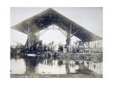 Eritrea, Gerar, Workyard of Second Regiment of Engineers Giclee Print