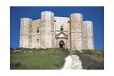 Italy, Apulia Region, Le Murge, Andria, Bari, Castel Del Monte Giclee Print