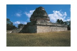 Mexico, Chichen Itza, Mayan Archeological Site, El Caracol, Circular Astronomical Observatory Giclee Print