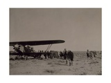 Transportation of Wounded by Air, 1911-1912 Giclee Print