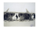 Eritrea, Italian Troops Command Encampment, Circa 1888 Giclee Print