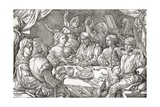 Coarse Behaviour at the Dining Table During the Renaissance Period Giclee Print