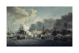 The Battle of Copenhagen, April 2, 1801, Release, Napoleonic Wars, Denmark Giclee Print