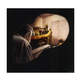 Egypt, Howard Carter Enters Burial Chamber at Tutankhamens Tomb Giclee Print