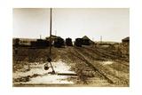 Railway Station of Abdel Kader, Eritrea, Italian Colonialism in East Africa Giclee Print