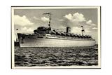 Blick Auf Das Kdf Dampfschiff Wilhelm Gustloff Giclee Print