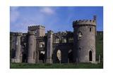 Neogothic Castle Ruin Near Clifden, Connemara, County Galway, Ireland Giclee Print