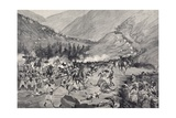 Battle of Coatit, January 1895, War in Abyssinia, Ethiopia Giclee Print