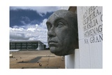 Brazil, Goias State, Brasilia , Juscelino Kubitschek Memorial and Law Courts Giclee Print