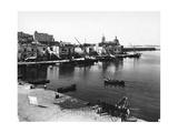 Italy, Naples, Pozzuoli, Panoramic View of City and Gulf Giclee Print