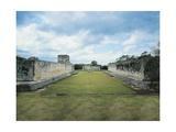 Mexico, Yucatan State, Chichen Itza, Great Ballcourt Giclee Print