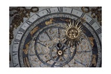 Astronomical Clock, Primatial Cathedral of Saints John Baptist and Stephen, France Giclee Print
