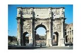 Italy, Lazio Region, Rome, Roman Forum, Arch of Constantine Giclee Print