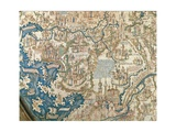 Map of China, 1449 Giclee Print