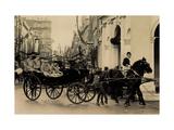 Königin Wilhelmina, Prinzessin Juliana, Kutsche Giclee Print
