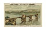 Le Pont De Saint-Benezech, a Avignon, Vaucluse Giclee Print