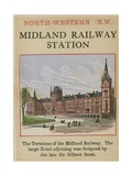 Midland Railway Station Giclee Print