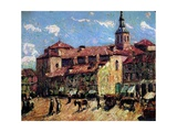 Segovia, Spain, C.1916-17 Giclee Print by Ernest Lawson