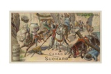 Battle of Morgarten, Switzerland, 15 June 1315 Giclee Print by  European School