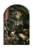 Adoration of Shepherds Giclee Print by Jacopo Bassano