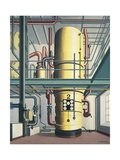 Yellow Boiler, 1933 Giclee Print by Carl Grossberg