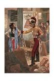 The Arrest of Carmen Giclee Print by René Bull