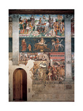 Allegory of April: Triumph of Venus, 1469 - 1470 Giclee Print by Francesco del Cossa