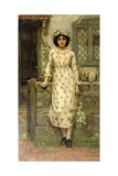 Queen of the May Giclee Print by Herbert Gustave Schmalz