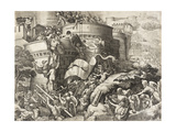 The Capture of Carthage, 1539 Giclee Print by Georg Pencz