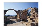 Cyprus, Paphos, Saranta Kolones Castle, Arches Giclee Print