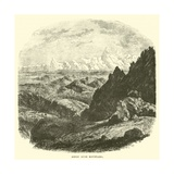 Hindu Kush Mountains Giclee Print