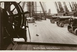 Quarterdeck of HMS Victory, Looking Forward Photographic Print