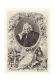 Laurence Sterne Giclee Print by Maurice Leloir