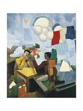Conquest of Air, 1913 Giclee Print by Roger de La Fresnaye