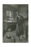A Modern Man Who Lived in Ancient Times Giclee Print by Charles Mills Sheldon