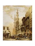 The Gate of Cairo Giclée-Druck von David Roberts