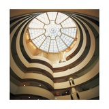 Spiral Ramp Inside Solomon Guggenheim Museum Giclee Print