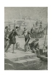 Last Moments of the First World Voyage Giclee Print by Charles Mills Sheldon