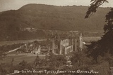 The Wye Valley, Tintern Abbey from Chapel Hill Photographic Print