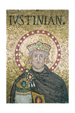 Head of Justinian the Old Giclee Print