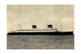 French Line Cgt, S.S. Liberté, Dampfschiff Giclee Print