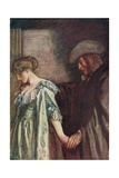 Love's Farewell by Michael Drayton Giclee Print by Robert Anning Bell