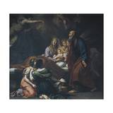 Nativity of Mary, 1709 Giclee Print by Carlo Cignani