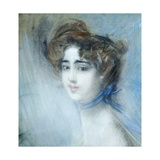 Female Portrait Giclee Print by Giovanni Boldini